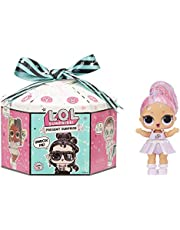 LOL Surprise Present Surprise Series 2 - 8 Surprises Inside - Glitter Shimmer, Star Sign Themed Doll with Accessories - Fun Colour Change Effect - Collectible