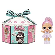 LOL Surprise Present Surprise. Star Sign Themed Glitter Doll with 8 Surprises. Fun Colour Change Eff...