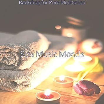 Backdrop for Pure Meditation