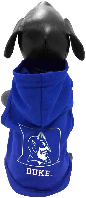 NCAA Duke blueee Devils Collegiate Cotton Lycra Hooded Dog Shirt