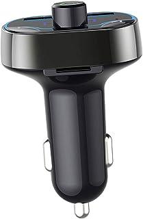 KESOTO Bluetooth 4.2 Car FM Transmitter Radio Adapter USB Charger MP3 Player