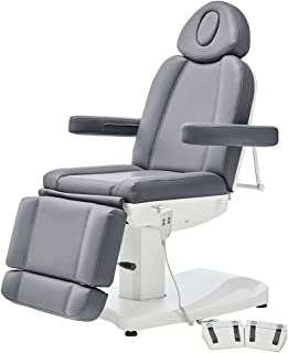 Facial Beauty Bed Medical Aesthetic Tattoo Procedure Bed With 2 Motor Electrical Adjustments - Ink-Grey