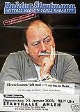 Doktor Stratmann - Ahlen 2003 Konzert-Poster A1