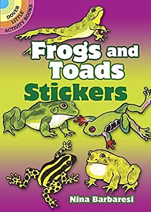 Frogs and Toads Stickers (Dover Little Activity Books Stickers) by Nina Barbaresi (1997-04-15)