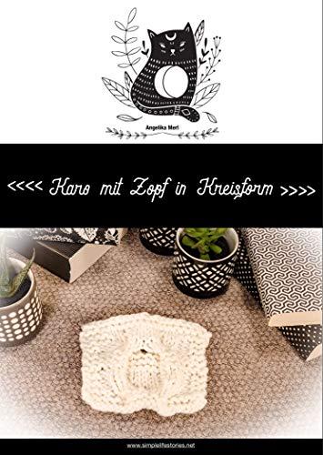 Strickanleitung: Karo mit Zopf in Kreisform: Karo für die Kuscheldecke selber stricken