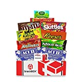 Redbox Movie Night Care Package with Popcorn, Candy and Movie Rental for College Students, Easter, Gift Ideas, Birthday, Corporate Gifts and Finals (10 Items) From Snack Box