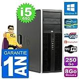 HP PC Tour 8100 Elite Intel Core i5-650 RAM 8Go Disque Dur 250Go Windows 10 WiFi...