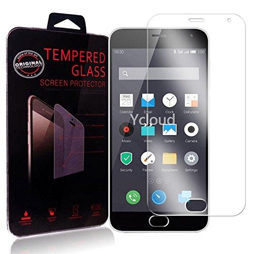 Ycloud Panzerglas Folie Schutzfolie Bildschirmschutzfolie für Meizu M2 screen protector mit Festigkeitgrad 9H, 0,26mm Ultra-Dünn, Abger&ete Kanten