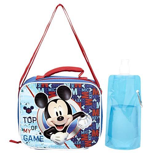 mochila y lonchera de mickey mouse fabricante Disney