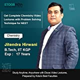 ETOOSINDIA Complete Physical & Inorganic Chemistry with Problem Solving Techniques for NEET by JH Sir