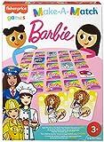 Fisher-Price Games Juego de memoria Barbie, juego de mesa para niños +3 años (Mattel GWN51)