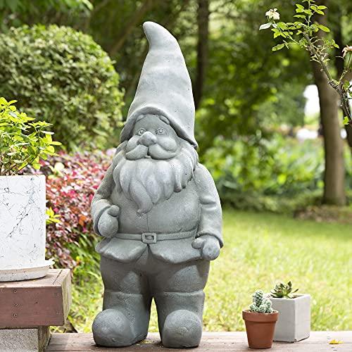 cute big gnome statue for garden