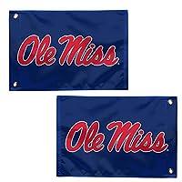 """WinCraft Mississippi Rebels Ole Miss Rebels 12.5"""" x 18"""" Boat Flag Golf Cart Flag"""