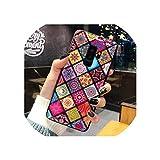高級アートLinggeキラキラ電話ケースサムスンギャラクシーS10 S9 S8プラスS10e注9ゴールド箔シリコン裏表紙女性ケース,for Samsung S9 Plus,Colorful