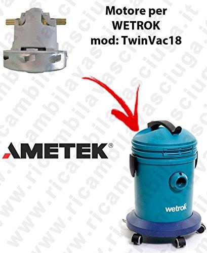 Ametek zuigmotor voor stofzuiger WETROK TwinVac 18