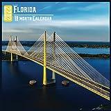 Florida Calendar 2022: 18 Month Calendar Florida, Square Calendar 2022, Cute Gift Idea For Florida Lovers Women & Men, Size 8.5 x 8.5 Inch Monthly