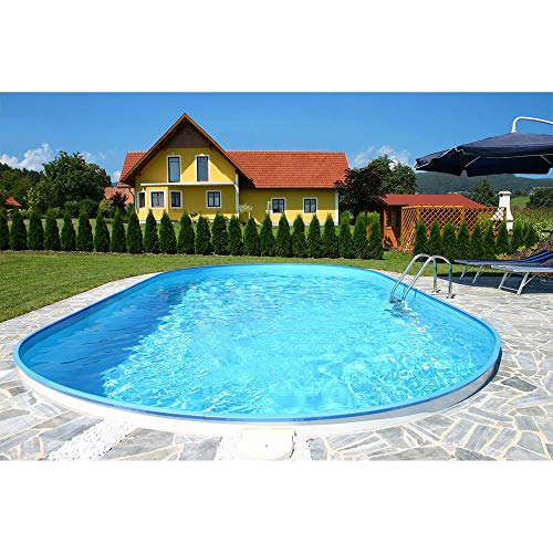 Planet Pool Ovalformbeckenset Florida 700x350x150 cm (SW: 0,8 IH: 0,6)