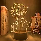Anime veilleuse Hotarubi No Mori E Ginn Figure enfants fille chambre décor film la lumière, les lucioles forêt Kinn lampe cadeau