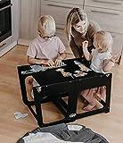 La tour d'apprentissage / d'observation Montessori est un support / marchepied de cuisine réglable, un tabouret de...