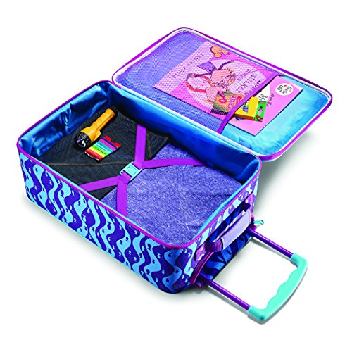 American Tourister Kids' Disney Softside Upright Luggage, Frozen II, Carry-On 18-Inch