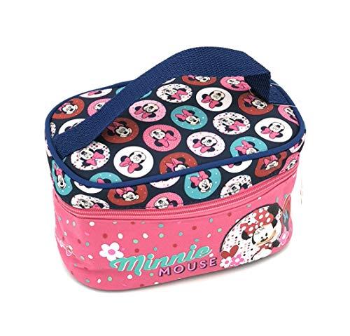 Minnie Mouse Schminktasche Kosmetiktasche Kosmetikkoffer Schminkkoffer Beautycase