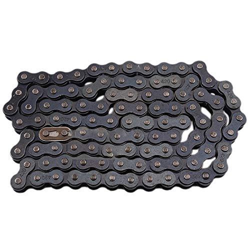 Beada 104-Link Chain Motocross Chain 420 Sprocket Chain ATV Set Chain Link Drive Chain for Motorcycle Motocross Motorbike