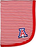 Creative Knitwear University of Arizona Wildcats Striped Baby and Toddler Blanket