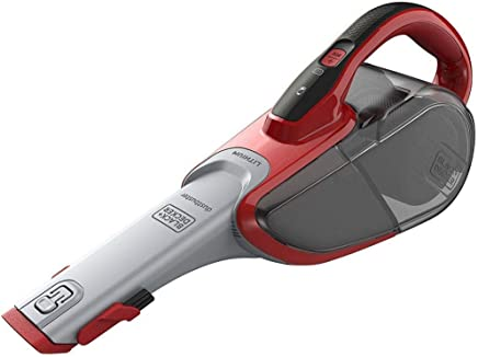Black+Decker Hand Vacuum Cleaner, Multi-Color - Dvj315J-B5