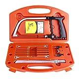Magic Handaw Set, Multi Purpose DIY Scie à métaux Scie à métaux universelle Scie...