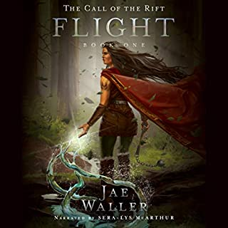 The Call of the Rift: Flight                   By:                                                                                                                                 Jae Waller                               Narrated by:                                                                                                                                 Sera-Lys McArthur                      Length: 17 hrs and 36 mins     1 rating     Overall 5.0