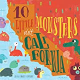 10 Little Monsters Visit California, Second Edition (4)