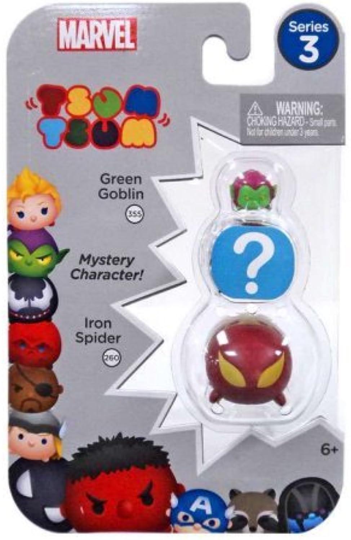 Marvel Marvel Marvel Tsum Tsum 3Pack Figures Series 3 Style