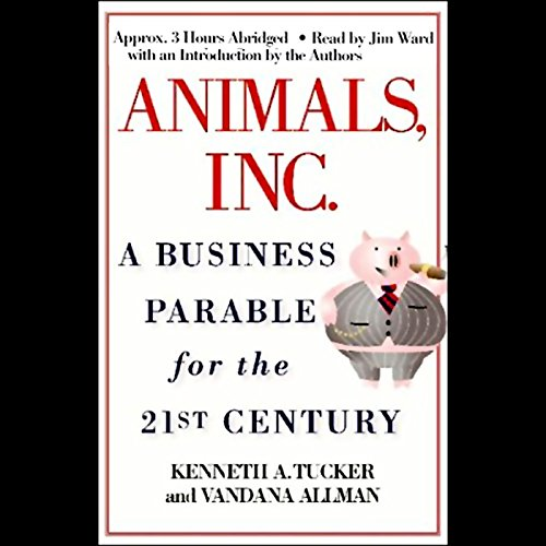 Animals, Inc. audiobook cover art