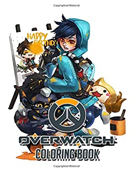 Overwatch Coloring Book  Perfect Gift For Adults Mega Fan of Roblox With Amazing Artwork Keep Them Happy on Christmas and New Year Eve