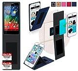 reboon Hülle für Motorola RAZR HD Tasche Cover Case Bumper | Blau | Testsieger
