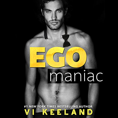 Egomaniac audiobook cover art