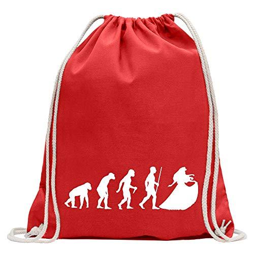 Camiseta con diseño de princesa Evolution, rojo, Talla única
