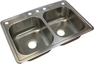 Transolid CTDE33228-5 Classic 33-in x 22 1/64-in x  sc 1 st  Amazon.com & Amazon.com: Drop In - Kitchen Sinks / Kitchen u0026 Bar Sinks: Tools ...
