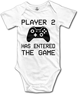 Unisex Baby's The Game Bodysuits Romper Short Sleeved Onesies
