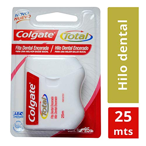 Fita Dental Colgate Total Encerada 25m