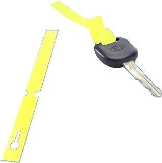 Eichner Schlüsselanhänger mit Schlaufe Pvc 1000 Stk gelb 9219 00109 405230100620