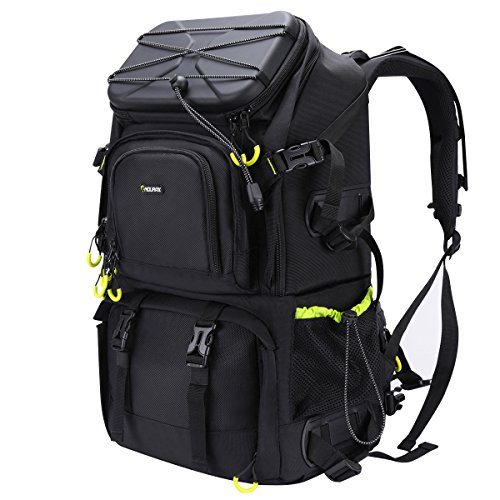 DURAGADGET Professional SLR Camera Starter Kit Comprising of Hard Wearing Rucksack 2 Lightweight Tripod /& Adjustable Padded Shoulder Strap for All GoPro Devices Including HD Hero 1 3 and 3+