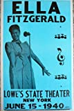 Ella Fitzgerald in New York Poster by Ron's Past and