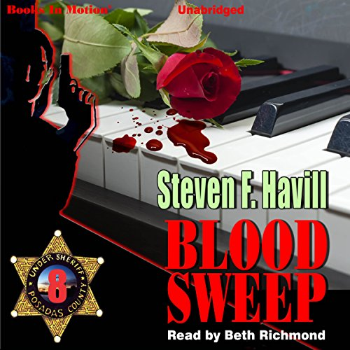 Blood Sweep audiobook cover art
