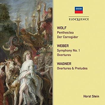 Wagner, Weber, Wolf: Orchestral Works