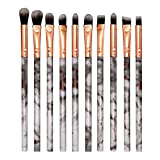 DÍa De San ValentÍn Brochas De Maquillaje Profesional Sistema De Cepillo De Maquillaje Portátil 10Pc Cepillo De Base Sistema Cepillo Sombra De Ojos Set Para Ojos Cejas Base De Maquillaje Polvos Crema
