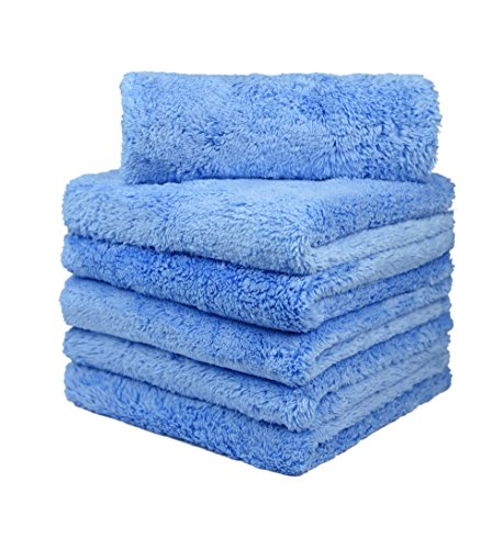 CARCAREZ Microfiber Towels for Cars, Car Drying Wash Detailing Buffing Polishing Towel with Plush...