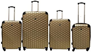NEW TRAVEL Luggage Hard set 4 pieces size 32/28/24/20 inch 821/4P