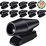Frienda Deer Whistle 10 Pieces Save a Deer Whistles Avoids Collisions, Deer Whistles for Car Deer Warning Devices Animal Alert for Cars and Motorcycles (Black)