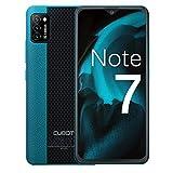 CUBOT Note 7 Handy, Smartphone ohne Vertrag, 4G Android 10 Go, 5.5 Zoll HD Bildschirm, 13MP Dreifach Kamera, 3100mAh Akku, 2GB/16GB, 128GB Erweiterbar, Dual SIM (Grün)
